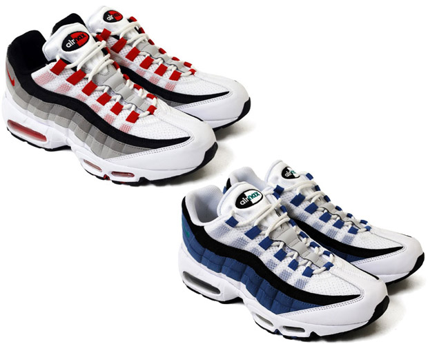 "the latest 8d46c b0464 Nike Air Max 95 ""Slate"" & ""Comet"""